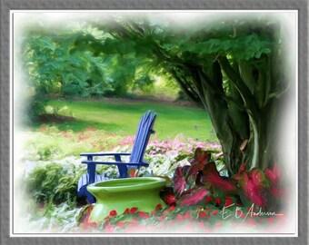 In The Garden, Dawes Arboretum, near Columbus Ohio
