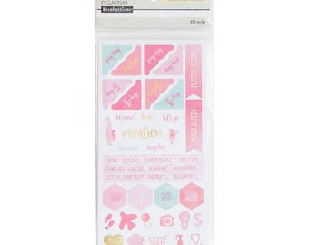 New Recollections Warm Activity Planner Sticker Pack