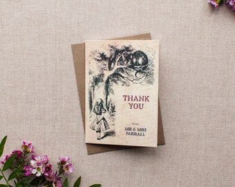 ALICE // Wedding Stationery // Thank You Card