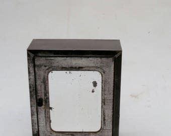 vintage metal bathroom cabinet cupboard bathroom mirror medical cabinet