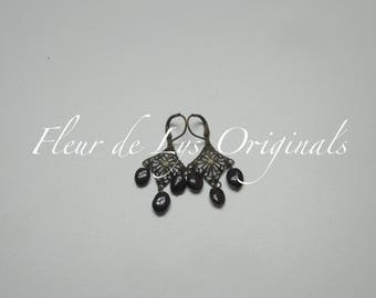 Renaissance Garnet Earrings