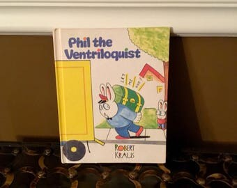 1989 PHIL THE VENTRILOQUIST Weekly Reader Children's Book