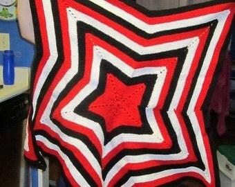 Star baby blanket