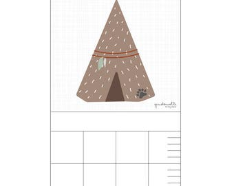 Bar for nursery - tipi