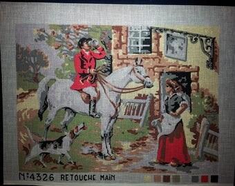 Retouche Main Cross Stitch Canvas