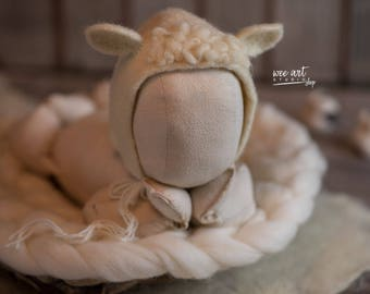 The White Lamb Bonnet