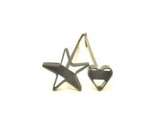 Star Or Heart Branding Iron For Steaks, Wood, Leather, & Crafts