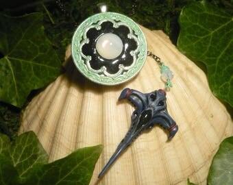 Neverending Wraith - handmade Amulet  - Stargate Atlantis Wraith