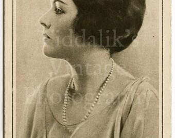 Elaine Hammerstein Edwardian Actress RPPC Postcard - Bradley Studios - Unused