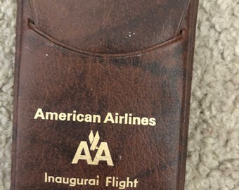 American Airlines Playing Cards, Inaugural flight