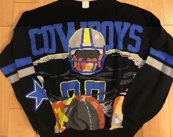 Vintage Dallas Cowboys Techmobowl Sweatshirt Sweater