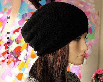 LUNA Hat Merino/Cashmere black
