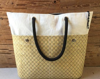 Recycled Sail and Kevlar Tote