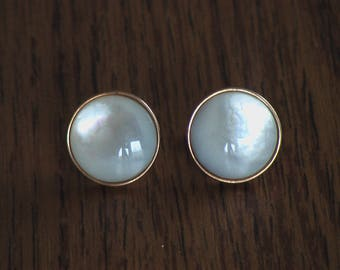 RARE Mother of Pearl Cufflinks - ONLY 1 pair
