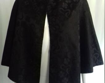 Antique Vintage Black Cape