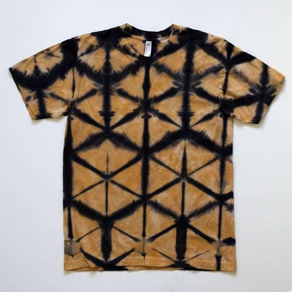 M Gold & Black Itajime T-Shirt