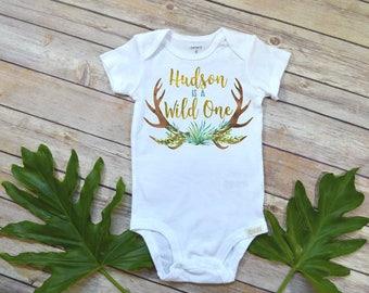 Wild One, Personalized Birthday Shirt, Wild things Party, Wild One shirt, Custom Wild Things, Family Shirts, First Birthday,1st Birthday,Boy