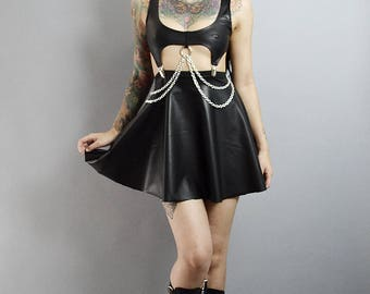 Chained Matte Dress