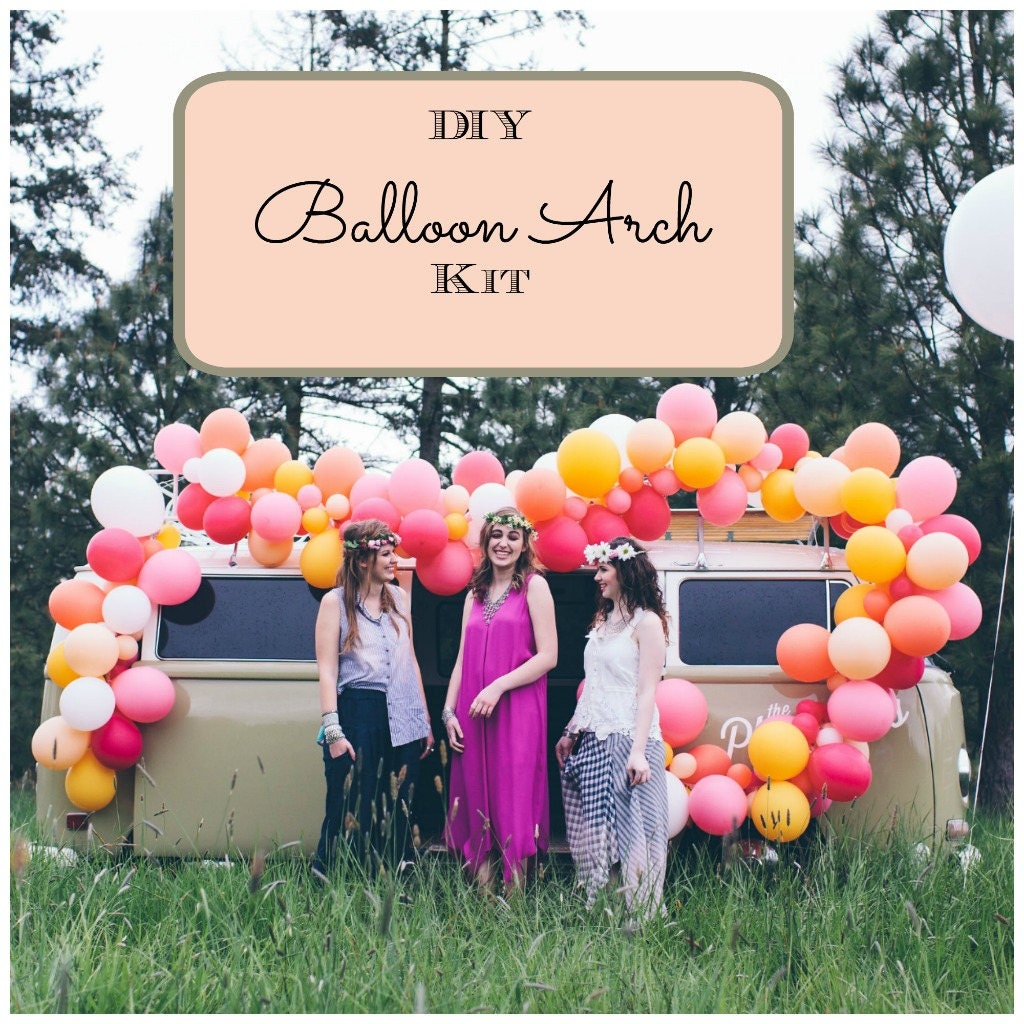 Diy Party Decoration Kit Clusters: Decoration Balloon Backdrop DIY Balloon Arch Kit Party