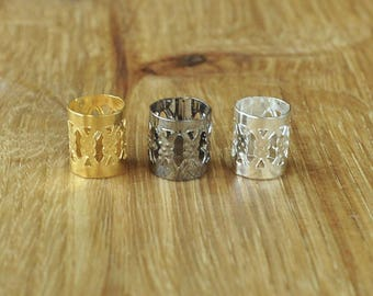 Dreadlock Cuffs - Metal and Expandable for dreads and braids