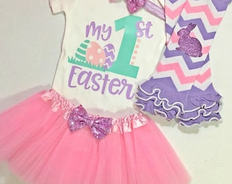 Baby Girl First Easter Outfit, Baby Girl Easter Outfit, Baby Girl My First Easter Outfits, Baby Girl 1st Easter Outfit, 1st Easter Girl