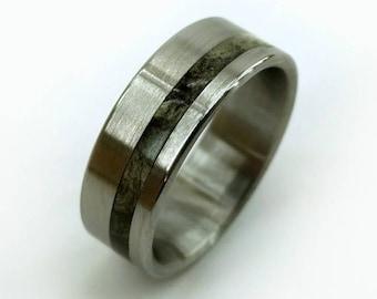 Buckeye Burl Ring, Burl Wood Rings, Rare Wood Ring, Womens Rings, Mens Ring, Womens Wedding Ring, Mens Wedding Ring, Unique Ring, Handmade