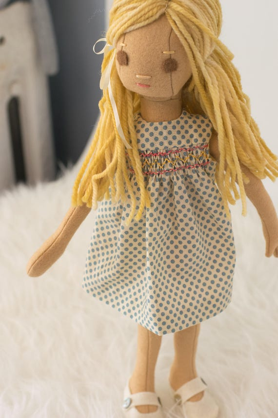 Small Doll with Summer Clothing Set