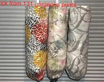 Plastic Bag holder, Plastic bag dispenser,  Grocery bag holder, plastic bag organizer,   Black, Yellow, red, Blue, Cobalt, Gray,