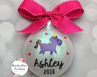 Unicorn christmas | Etsy