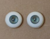 18mm Moonteahouse (Mth) Eyes - Handmade Blue / Gold Resin Eyes for BJD, ABJD and Dolls [17081]