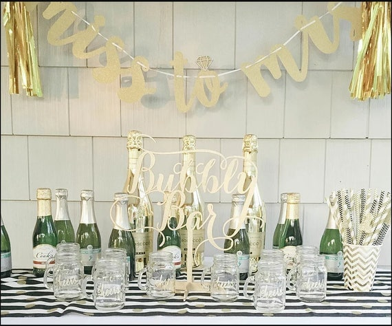 Bubbly Bar, Bubbly Sign, Champagne Table, Bar Sign, Mimosa Bar, Wedding Decor, Champagne Table Decor, Bubbly, Bar Cocktail Sign