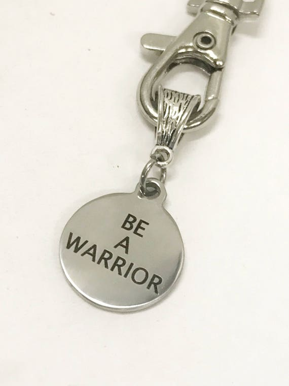 Warrior Keychain, Be A Warrior Keychain, Warrior Gifts, Motivational Gifts, Success Quotes, Motivating Quotes, Warrior Inspiring Gifts