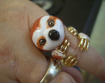 Sloth ring June SALE! FREE gift with Purchase!!!!