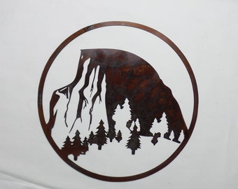 Half Dome - Yosemite National Park - Metal Sign H27