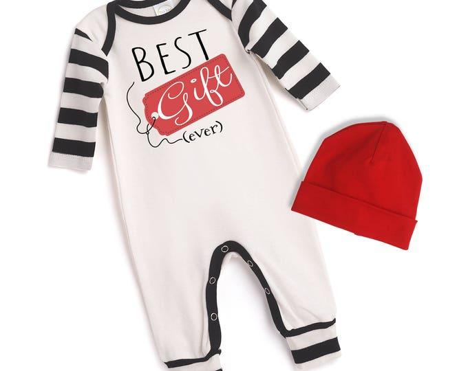 Newborn Christmas Romper, Baby Boy Christmas Bodysuit, Infant Boy Christmas Onesie, Best Gift Baby Romper, Newborn Christmas Outfit Tesababe