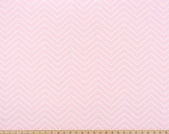 Pink & White  valance. Chevron  Bella twill.  Light Pink. Window treatment. curtains.  Choose  your sizes