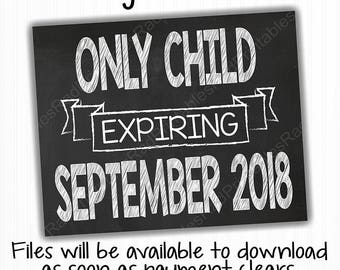 Only Child Expiring Etsy