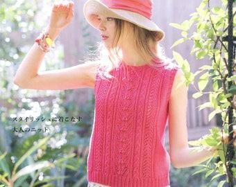 26 European HandKnit Patterns - Beautiful Crochet Spring Summer - Lets Knit series- Japanese Craft Book- Women's Crochet Clothes- ebook- PDF