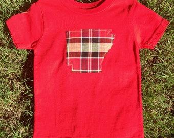 Arkansas Red shirt