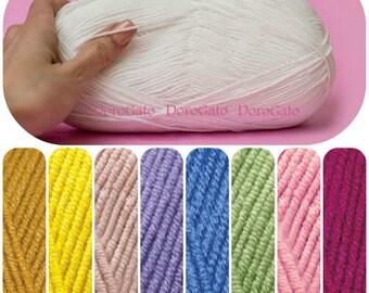 Soft cotton yarn, Alize cotton gold, Alize yarns, baby yarns, eco friendly yarn, Sport Weight yarn, Cotton Gold Solids, Turkish yarns