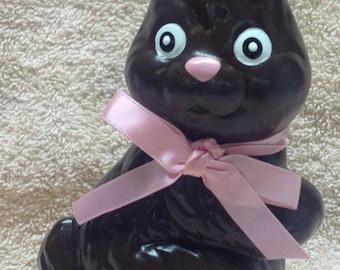Chocolate Bunny ceramic