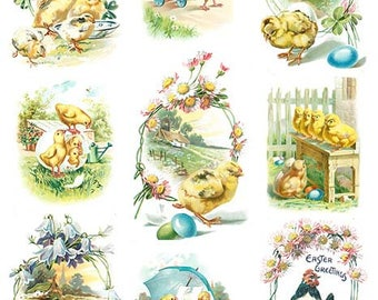 Easter Decoupage Rice paper #845