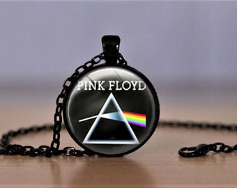 Pink Floyd Pendant Necklace