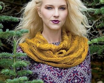 Aurelia Cowl Knitting Pattern Download (402267)