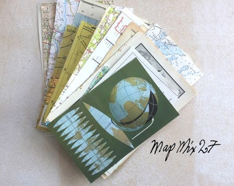 Map Mix 27: 27 piece selection. A mix of styles and colours. Only 1 available.