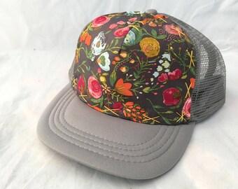 Rose Garden - Medium Adult Trucker Hat