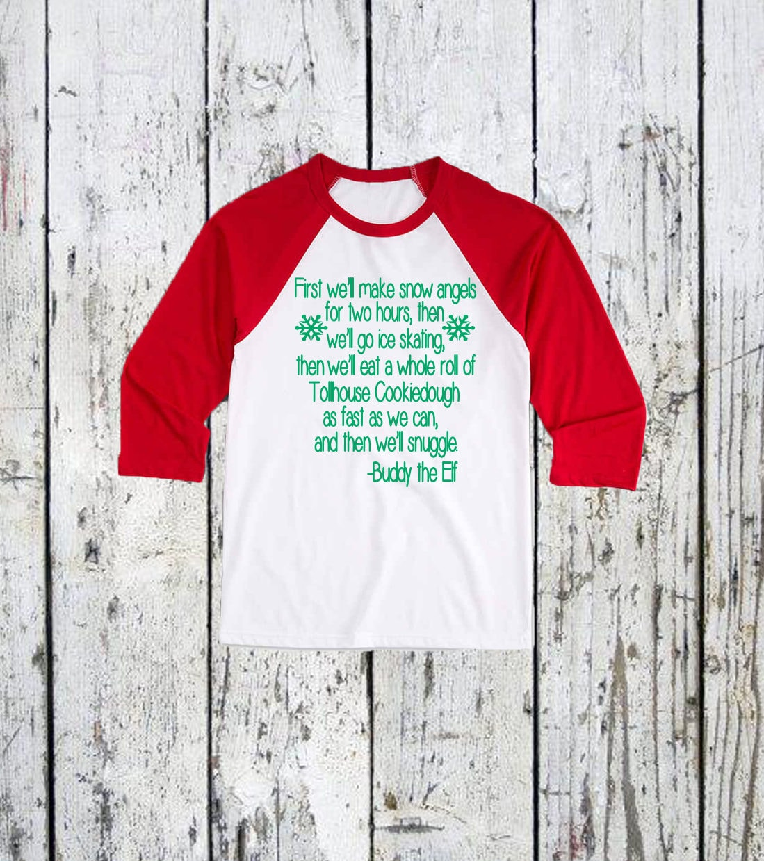 Youth Buddy The Elf Christmas T-Shirt. kids christmas shirts. youth ...