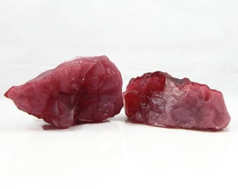 Two Ruby Quartz Soaps  - Choose your Scent