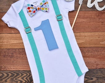 Baby's First Birthday Outfit, Baby Boy Clothes, Baby Boy Bodysuit, Baby Boy Outfit, Arrows Birthday Onesie, Baby Boy Birthday Outfit,