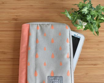 peach ipad case,ipad sleeve,ipad cover,ipad pro 9.7 case,New ipad pro 10.5 case,ipad mini case,ipad air 2 case,tablet sleeve